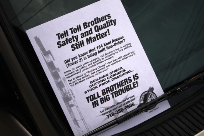 CurbedWire: Toll Bros. Still Making Friends in Burg, Property Tax Rebate Screwing Picking Up Steam
