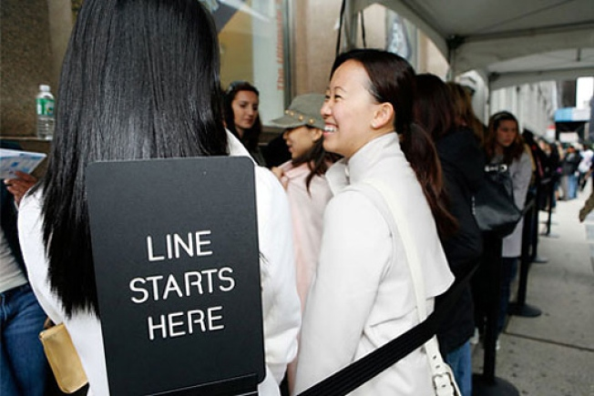 This December, Expect Constant Sample Sales