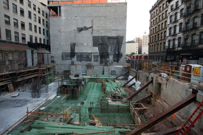 Construction Watch: 56 Leonard Not Just a Hole in the Ground