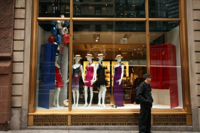 In the Window: DVF Shows Off Her Warhol