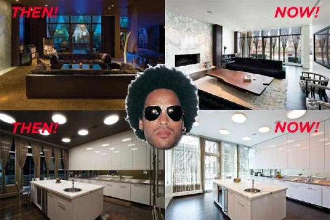 Lenny Kravitz's Interior Renovation Revealed!