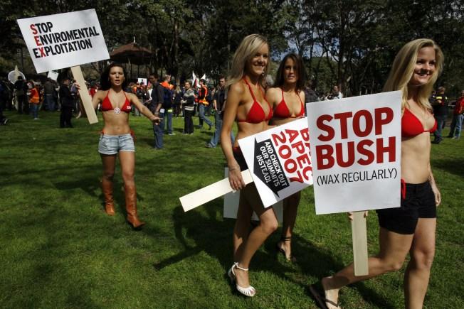 Spa Bids Bush Farewell With Bikini Waxes