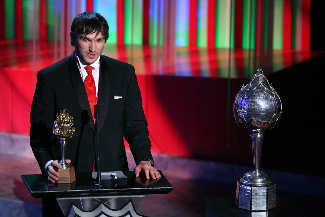 Ovechkin Takes 2nd Straight NHL MVP Award