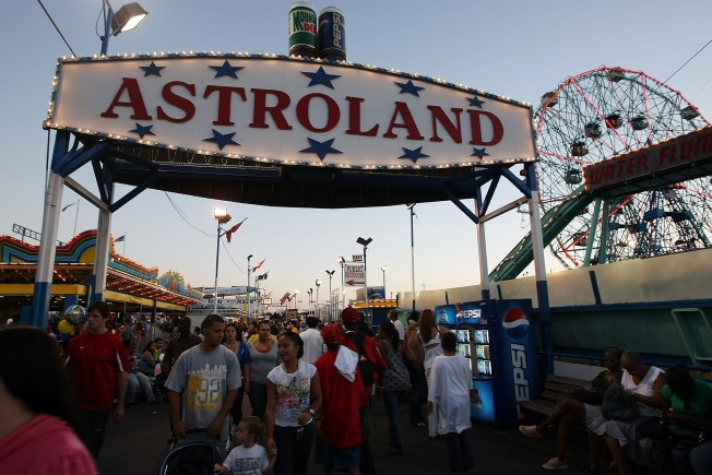 Is the City Buying Astroland?