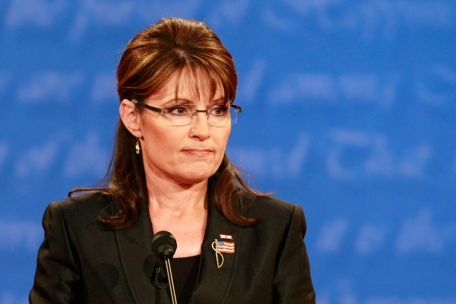 Palin Latest Guv to be Sent Suspicious Powder