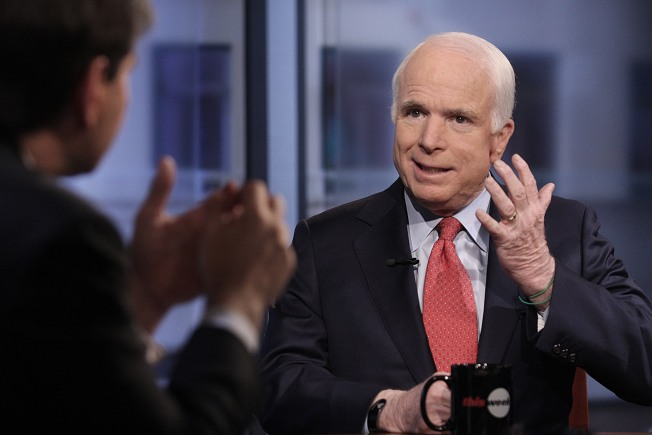McCain Scolds GOP for Whacking Obama