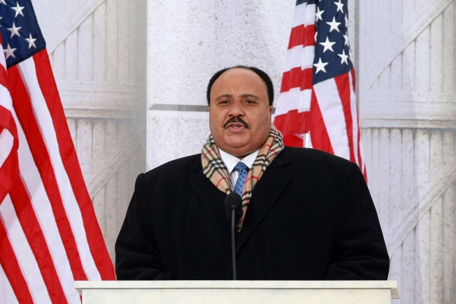 Martin Luther King III Looking to Buy Mets:  Report