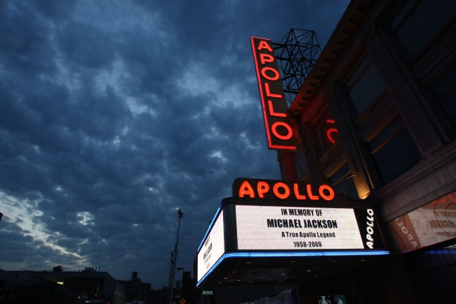 It's Teachers Night at the Apollo