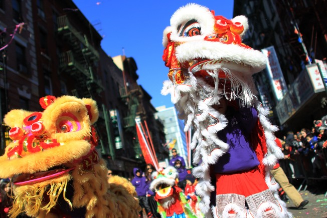 Chinatown Revelers Ring in Year of the Tiger