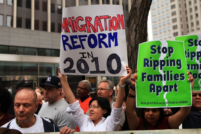 New Yorkers Protest AZ Immigration Law