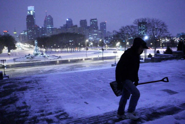 March Madness: Snow Storm Pounds East Coast