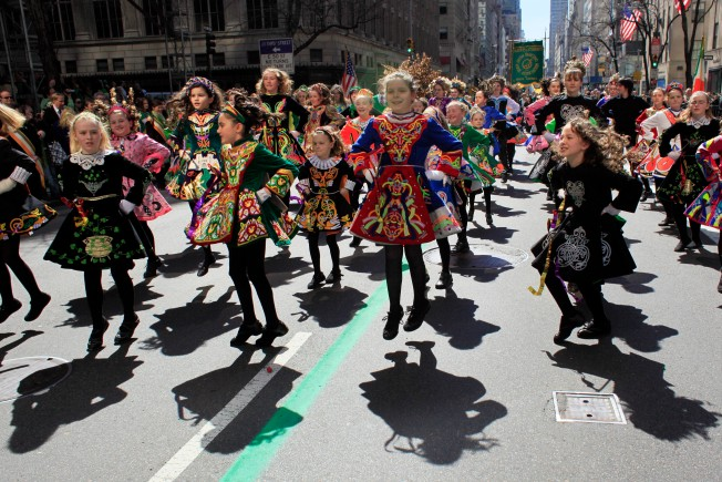 Looking Back at 2010: The Sun Smiled on the St. Patrick's  Day Parade