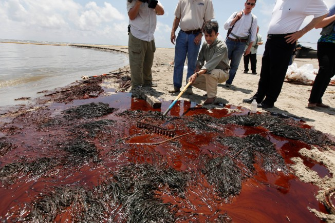 Gulf Oil Spill Starts to Worry New Jersey Beaches