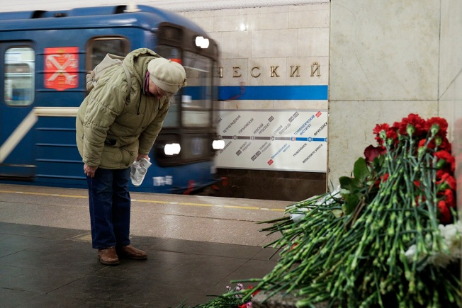 Russia Reports Arrest of Suspected Subway Bomb Organizer