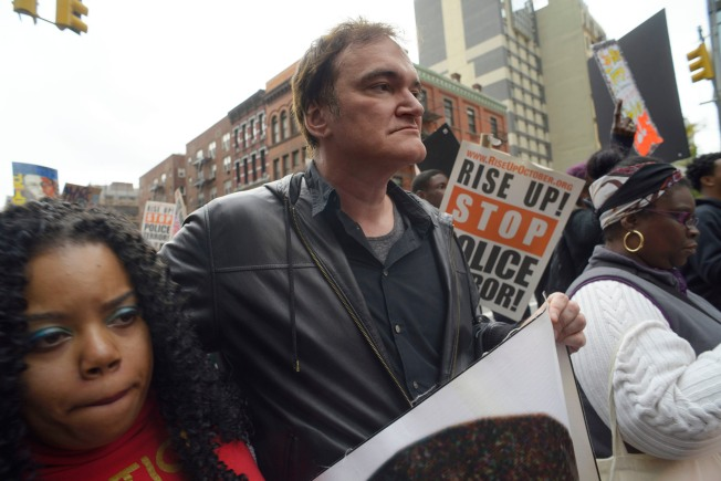 Quentin Tarantino Says He Won't Be Intimidated by Police Boycotts
