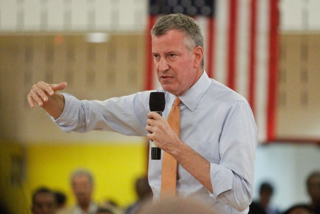 Approval Rating for Mayor de Blasio Hits All-Time Low: NBC4/WSJ/Marist Poll