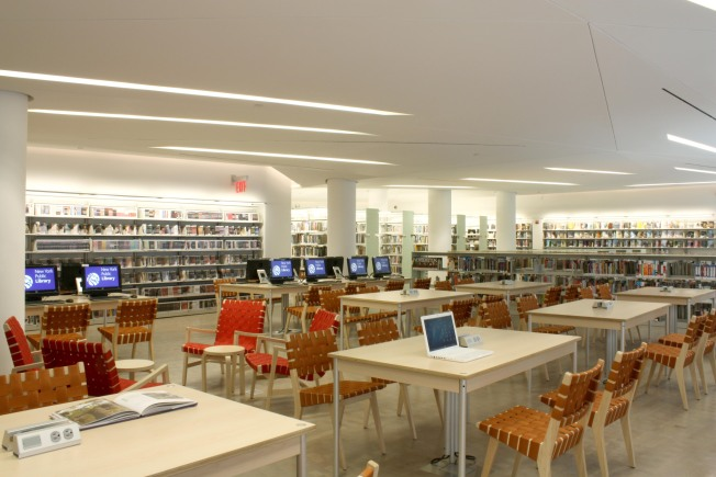 "First ""Green"" New York Public Library Opens"