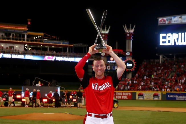 Todd Frazier Wins Home Run Derby, National League Wins Home Field