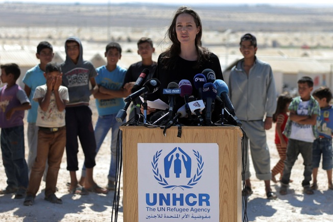 Angelina Jolie Takes on Travel Ban in New York Times Op-Ed