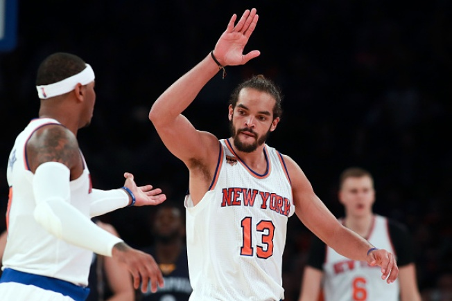 Newcomers Help Knicks Beat Grizzlies 111-104 In Home Opener
