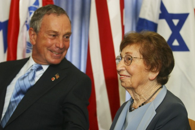 Bloomberg's Mom Celebrates 100th Birthday