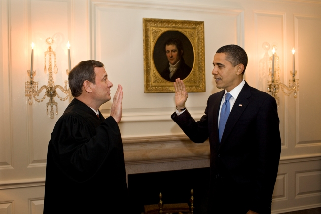 Obama Takes Presidential Oath - Again