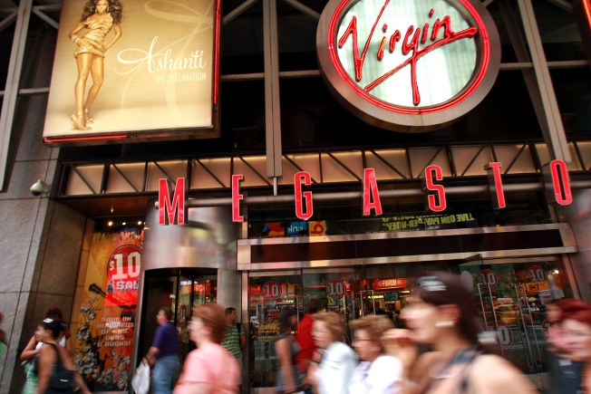 Virgin Megastores Sacrificed, Report Says