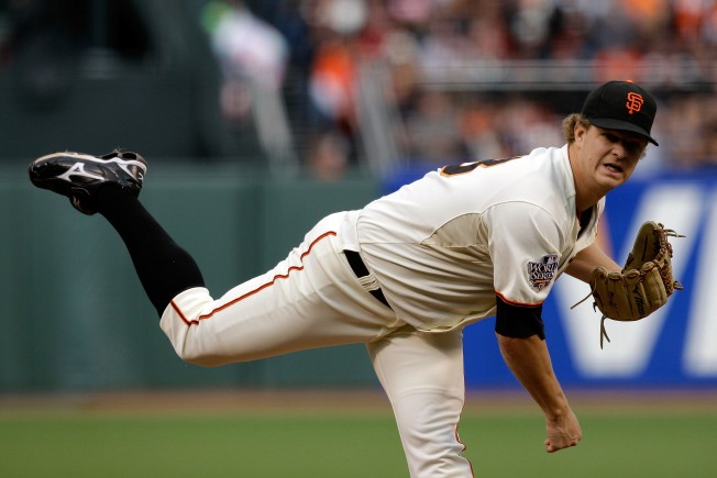 Matt Cain Puts the Giants Up 2-0 in the World Series