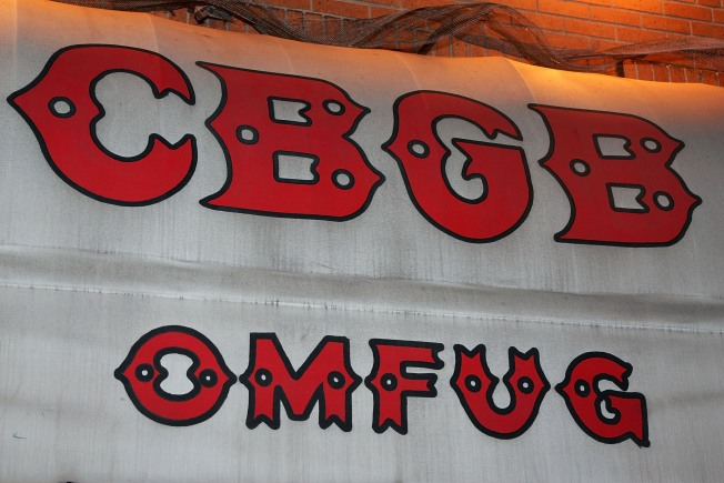 Buyer of CBGB Rock Club Brand Files for Bankruptcy
