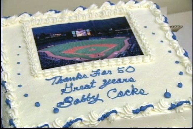 No Cake Love for Bobby Cox (sp?)