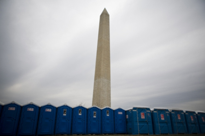 5,000 Porta-Potties? Inauguration by the Numbers