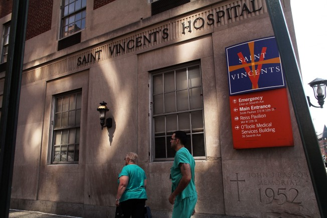 St. Vincent's Closer to Sale of Former Hospital