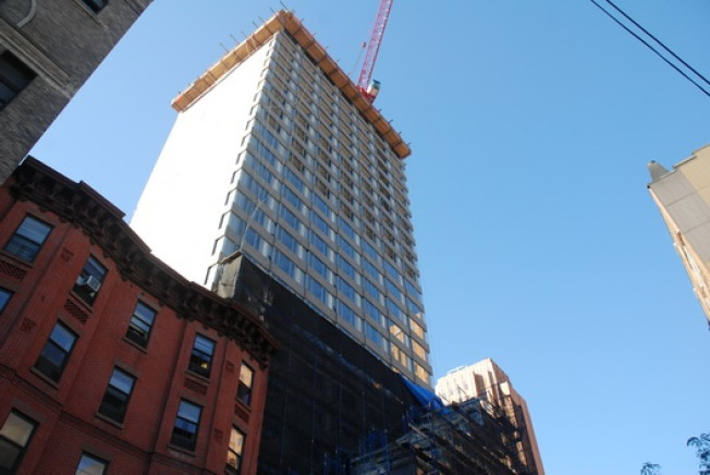 Construction Watch: Aloft Erect on Duffield in Downtown BK