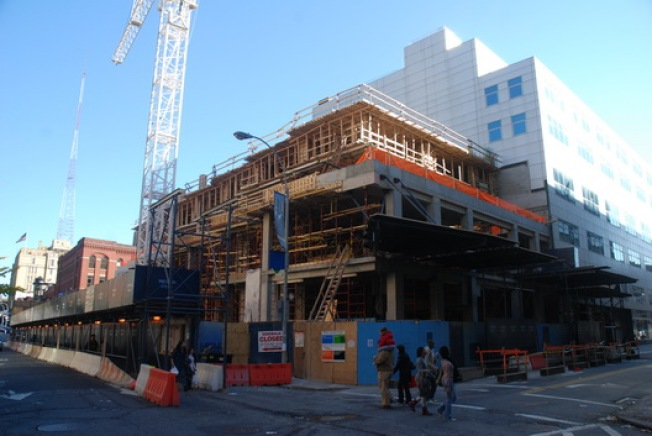 Construction Watch: Ratner's Big Kondylis Rising in BK