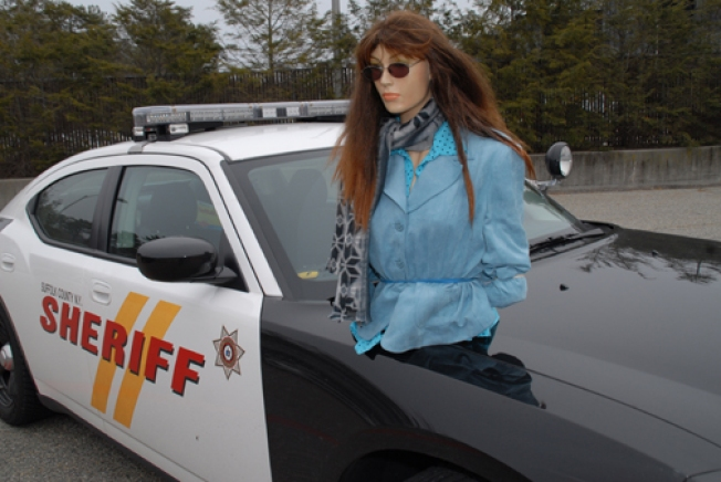 Long Island Driver Busted for Mannequin in HOV Lane