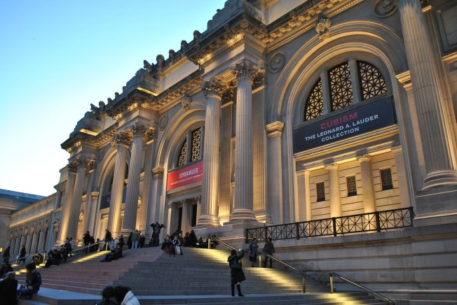 Anti-Opioid Protesters Scatter Pill Bottles at NYC Museum