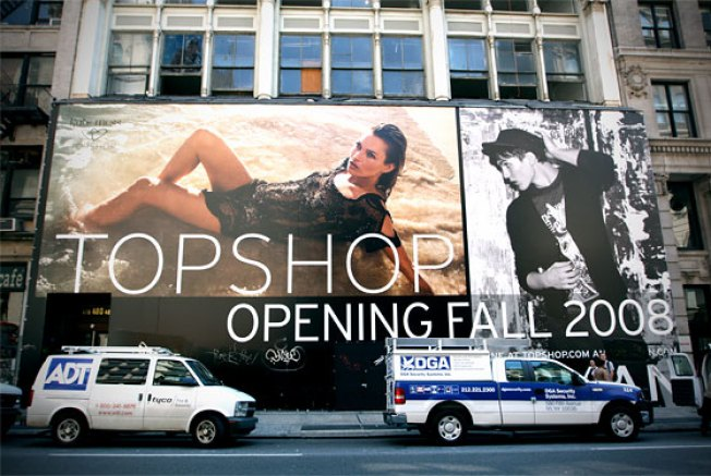 Topshop ... on Fire!