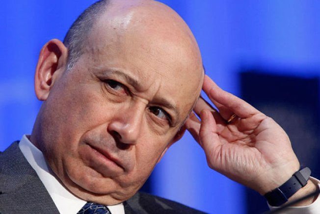 Lloyd Blankfein Is Perturbed