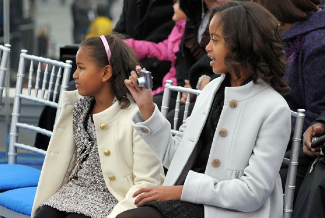 Sasha & Malia: Our Adorable New Statler and Waldorf