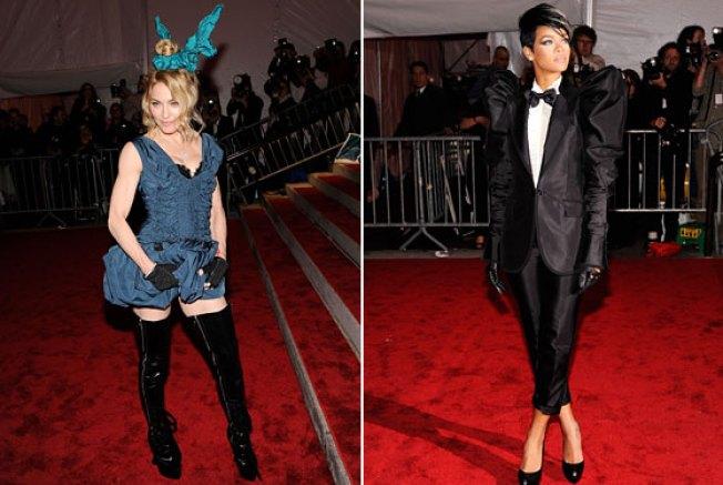 Madonna Stole Rihanna's Boots