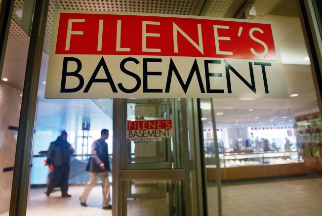 Filene's Basement Stores to Close, Including in NYC