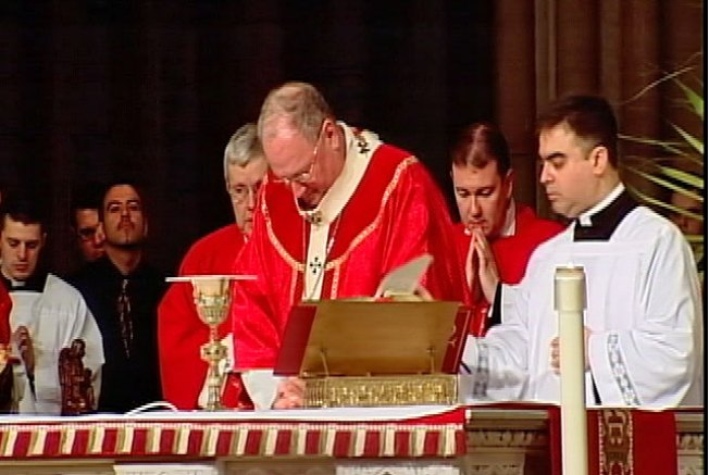 Archbishop Dolan Defends Pope Amid Church Abuse Scandal