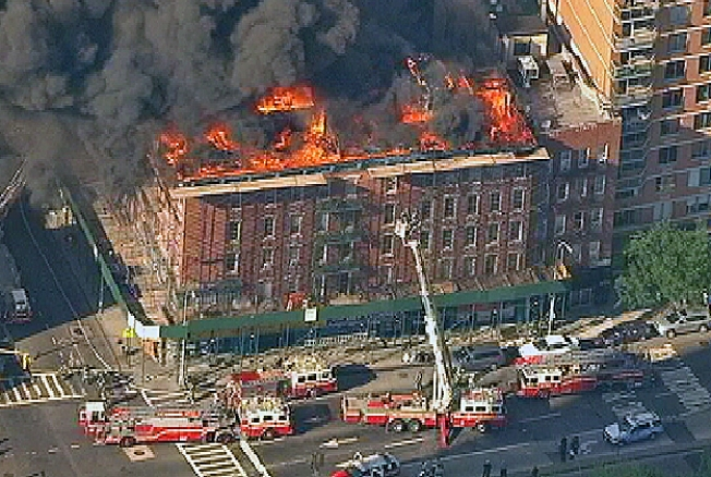 Unapproved Wiring Blamed for East Village Fire