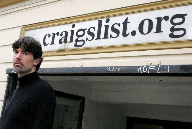 Under Pressure, Craigslist Dumps Adult Services Section