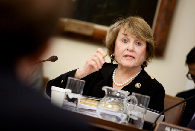 NY Congresswoman Falls, Breaks Leg