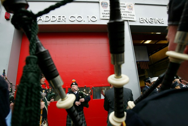 FDNY Bagpipers Celebrate 50th Anniversary