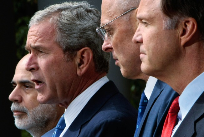 Bush Asks For $700 Billion For Bailout