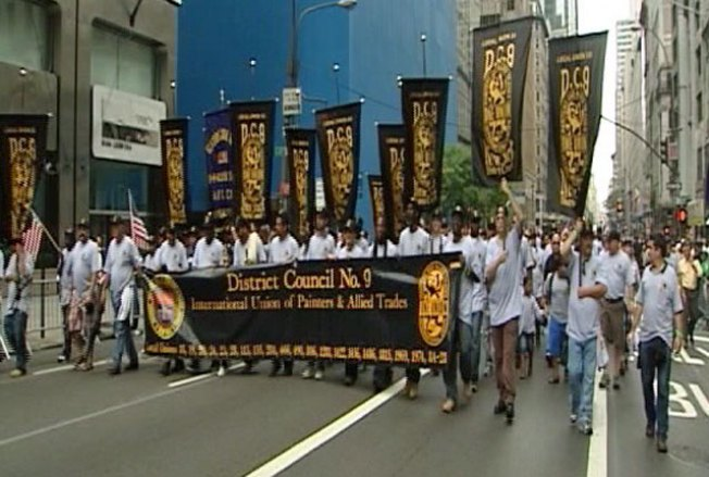 Labor Parade Honors Workers, 9/11 Victims