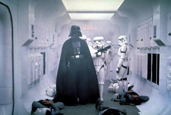 Darth Vader Goes Viral