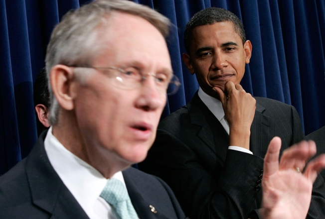 Obama, Reid and the First Compromise